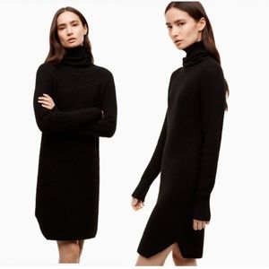 Aritzia Wilfred Free Merino Wool Bianca Dress